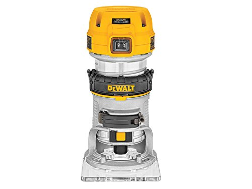 DeWalt D26200L 115V, 50Hz, 900W 1/4-inch 8mm Compact Fixed Base Router