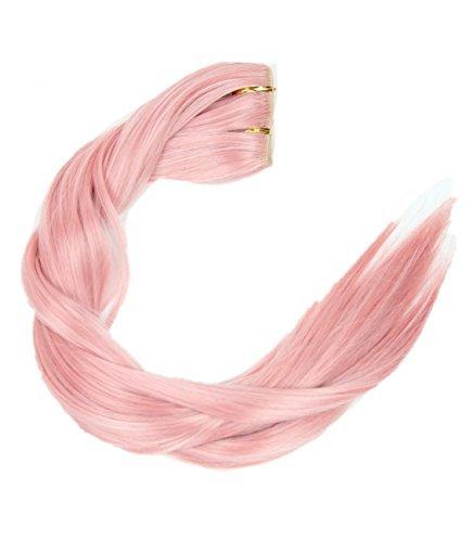 Prettyland - DQ110 60cm X30cm liscia come la seta di un pezzo estensioni a clip nell'estensione dei capelli posticci - BC25