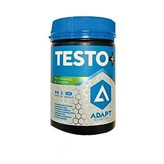 ADAPT NUTRITION Testo Plus Capsules, Pack of 120