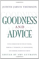 Goodness and Advice: (The University Center for Human Values Series)