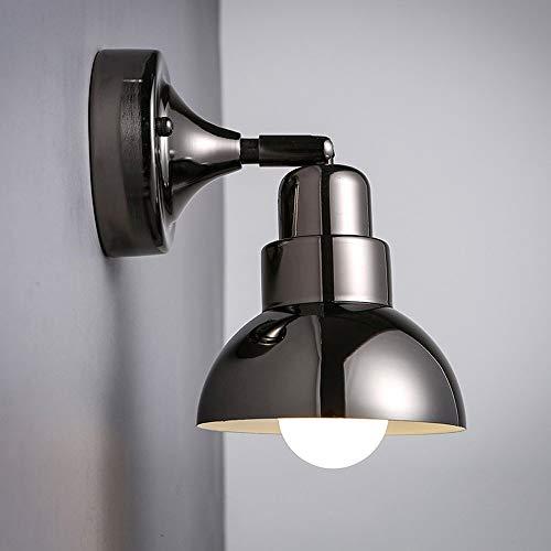 Moderne minimalistische Wandleuchte verstellbare Metallbett Kopf Runde Wohnzimmer Innenbeleuchtung Schlafzimmer Gang