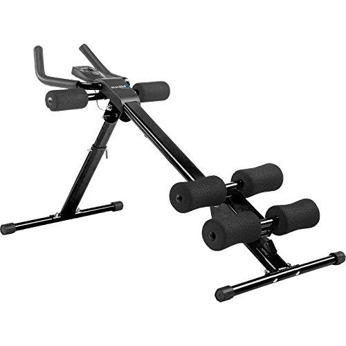 Skandika AB Grinder - Appareil de Fitness Abdominal Pliable - 5 Niveaux de difficulté - Max 100 Kg