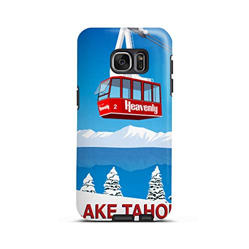 artboxONE Samsung Galaxy S7 Edge Tough-Case Handyhülle Lake Tahoe California von Steve Ash