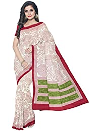 Sakhi Womens Blended Tussar Saree_IMR-1108_Multi-coloured_Free Size