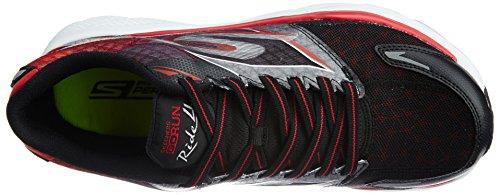 Skechers Go Run Ride 4, Chaussures de running homme Bkrd