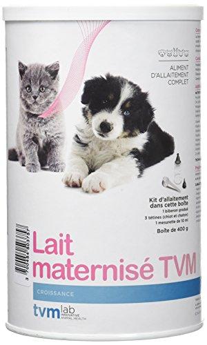 TVM Lait Maternisé Poudre Oral pour chiots, chaton et petits mammifères Boîte de 400 g
