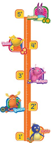 RoomMates RMK1913GC Nickelodeon Backyardigans Peel and Stick Growth Chart -