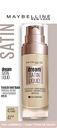 Maybelline New York Dream Satin Base maquillaje fluida