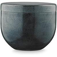 Scatola in pietra di sapone Grigio–10cm