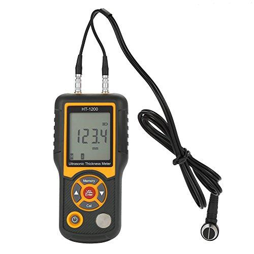 HT-1200 Digital LCD Ultraschall Dickenmessgerät Tester Messgerät 1,2~225mm Bereich