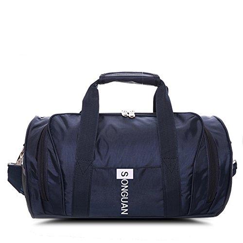 Borsa a mano monospalla fashion cylinder/pacchetto messager/borsa sportiva impermeabile-F D