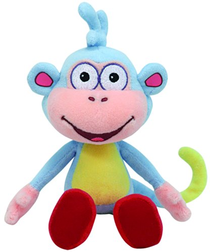 Dora the explorer - Boots the Monkey Baby Plush - Ty Beanie - 20cm 8""