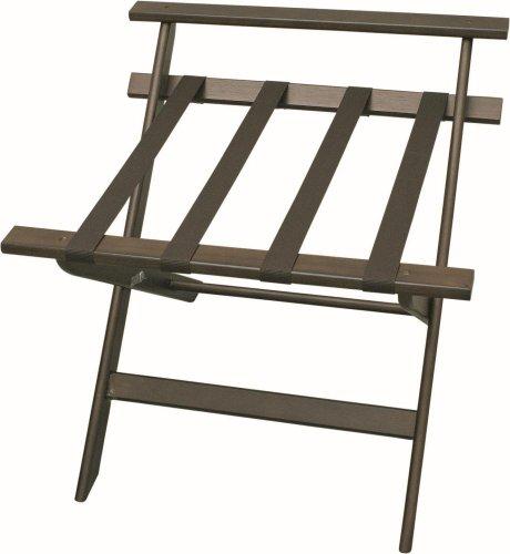 Kofferständer mit Wandschutz, Holz, (H52 x B60 x T59 cm)
