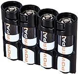 PowerPax 4 AA Battery Caddy - Tuxedo Black