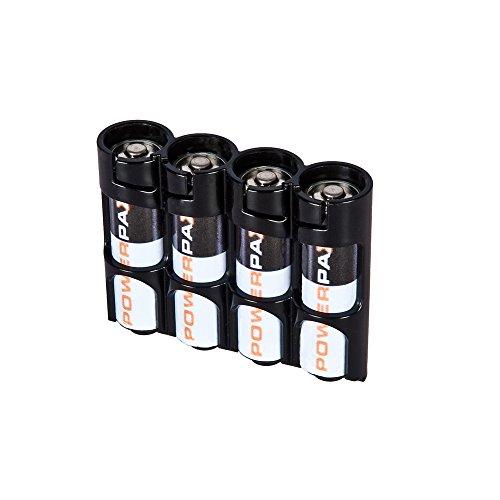 Powerpax 4AA Batterie Caddy-Tuxedo Schwarz