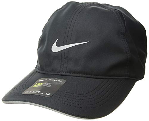 Imagen de nike u nk fthlt cap run hat, unisex adulto, black, misc alternativa