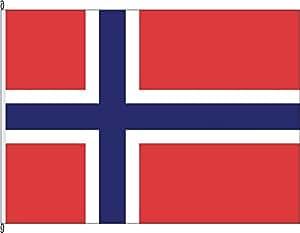 Flagge Fahne Hissflagge Norwegen - 80 x 120cm