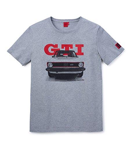 Volkswagen Herren T-Shirt GTI, Grau, Größe M (5GB084200BRJ1)