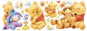 Colorfulworld adesivo winnie the pooh baby winnie da - Winnie pooh babyzimmer ...