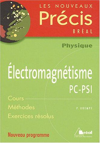 Electromagnétisme PC-PSI