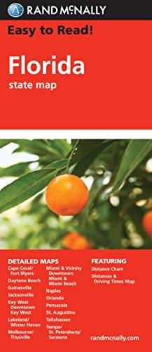 Descargar Libro Rand McNally Easy to Read Florida State Map de Rand McNally and Company