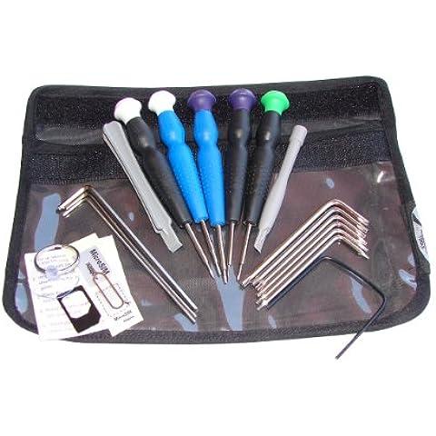 Silverhill Tools - Set de herramientas deluxe de 20 piezas para Apple Mac, iPhone y iPad