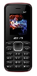 ZEN X47 Dual SIM Feature Phone (Black)