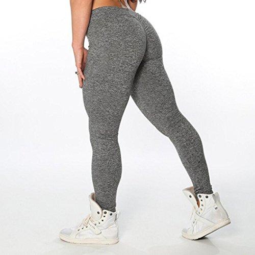 ❤️DoraMe❤️Donne Alta Vita Sexy Leggings Magro Di Patchwork Mesh Push Up Yoga Pants Leggings Sportivo Yoga Donna Abbigliamento Yoga Donna Sportive Yoga fitness pantaloni Grigio scuro