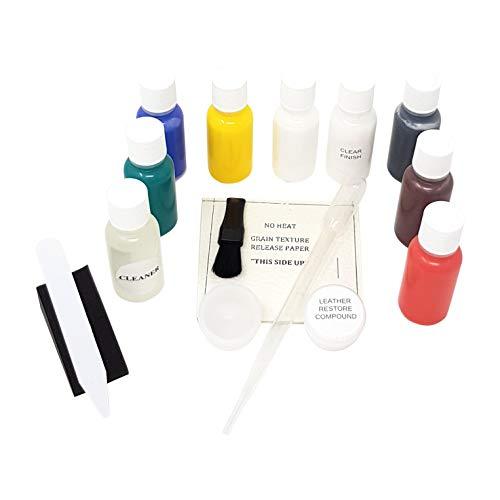 Juego de reparación y color de cuero Cuero Color Pro 17 pz. - Multicolor