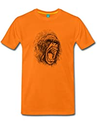 screaming ape Männer Premium T-Shirt von Spreadshirt®
