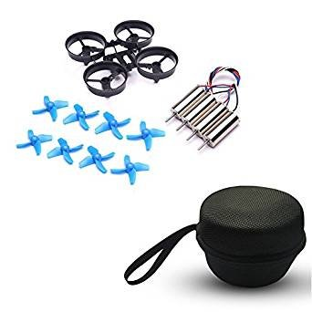 8 pcs propellers +4 pcs motors+1pcs Airframe +1pcs carry bag for JJRC H36 Eachine E010 NIHUI NH010 FuriBee F36 RC Quadcopter FPV Drone