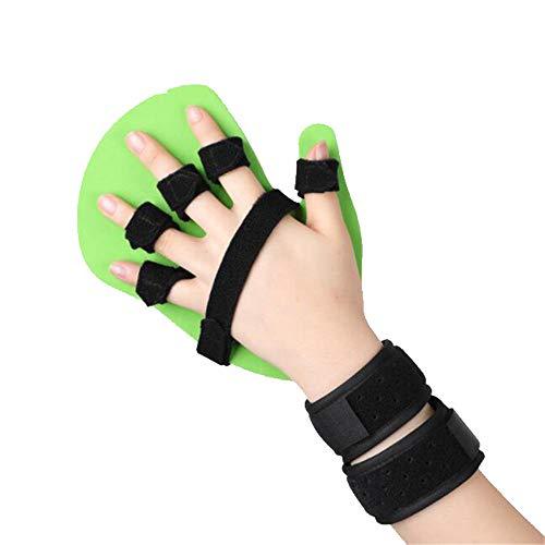 Finger-Trainings-Board, Finger Flexion, Korrektur der Wrist Fixierung Splint, Fingerboard Correction Device, Adjustable Medical Outdoor Sports,Right,L -