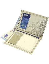 Étui à cigarettes fait en acier inoxydable de haute qualité, couvert de cuivre, pour 16 cigarettes, doré, 320-03