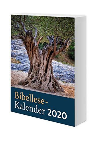 Bibellese-Kalender 2020: 365 Tage mit Gottes Wort