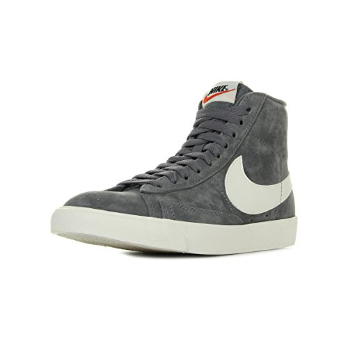 Nike Damen Wmns Blazer Mid VNTG Suede Fitnessschuhe, Mehrfarbig (Gunsmoke Sail-B 004), 37.5 EU