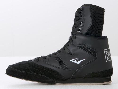 Everlast Hi Top 8001B - Chaussures de boxe hautes mixte - Noir Noir