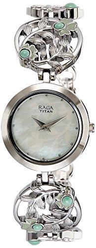 41EVGfDVb%2BL - Titan 2540SM05 Raga Aurora Green Women watch