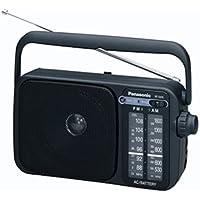 Panasonic 2400DEB-K Portable Radio AM/FM with AC or DC operation. Black