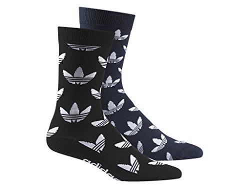 Adidas Thin Crew Graphic 2-Pack Calza 43-46 black/navy