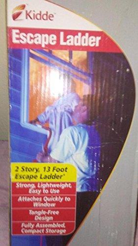 Kidde PLC 46809313-foot unteren Etage Escape Fire Leiter–Menge 2