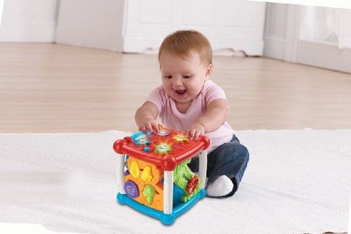 Image of VTech Baby Turn and Learn Cube - Multi-Coloured