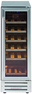 Lec Commercial 300SSWC Mk2 (444440918) Wine Cooler/Fridge, 18 Bottle from Lec Commercial