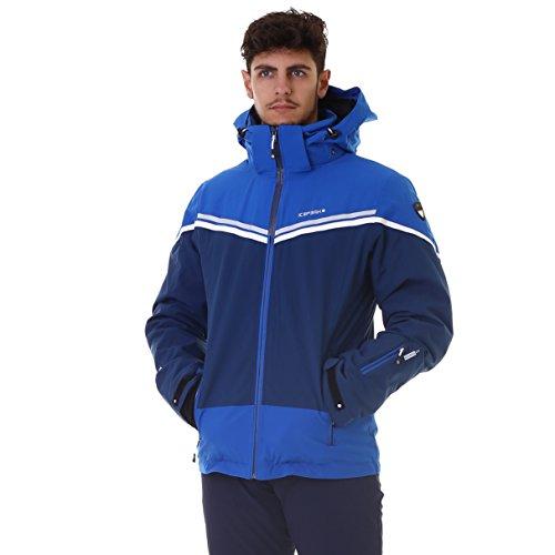 Nick blau, He. Skijacke