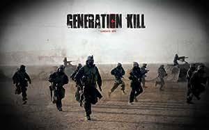 Generation Kill Poster TV Affiche du film D 11 x 17 Inches - 28cm x 44cm