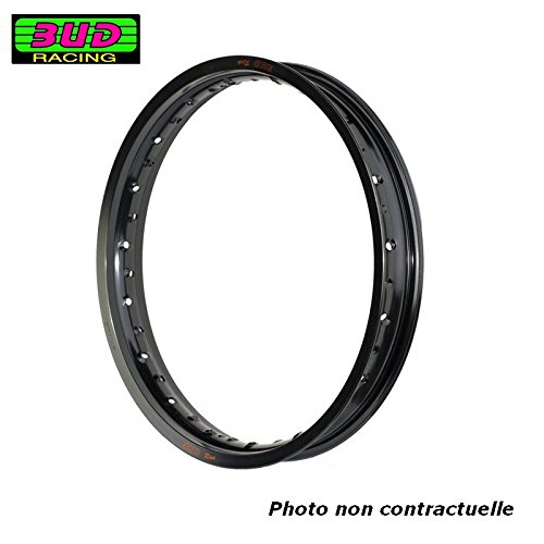 BUD RACING Jante 2.15 x 19-36 Trous/Noir