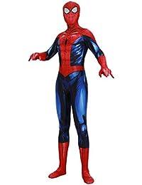 ASPIDER Luminous Spider-Man Cosplay Siameses Todo incluido Disfraces  Espectáculo de películas para adultos Maquillajes dcc096492eb5