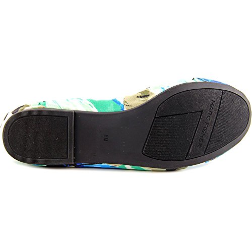 Marc Fisher Cadassi 3 Femmes Toile Chaussure Plate Green Multi