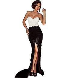 ZARINA®Vestido Plisado de Mujer / Vestido de Novia modelo 6992 color negro