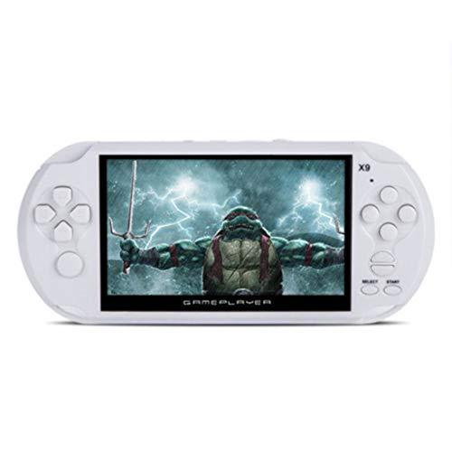 tragbare Spielekonsole, tragbar, mit integrierter Kamera, LCD-Farbdisplay, 5,0 Zoll, HD-Video, Musik, E-Book, Foto, Geburtstagsgeschenk für Kinder Mpeg-video-recorder