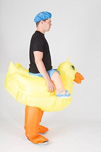 Imagen de hinchable adulto disfraz pato  alternativa